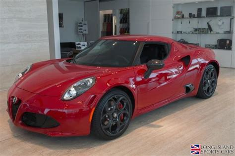 2015 Alfa Romeo 4c Msrp by Used 2015 Alfa Romeo 4c Launch Edition Roslyn Ny