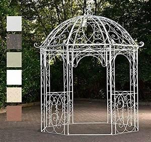 Pavillon Metall Rund : clp runder metall garten pavillon leila aus eisen schlic garden garten garten pavillon ~ Eleganceandgraceweddings.com Haus und Dekorationen
