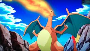 after over 13 years ashs charizard returns to the pokemon anime