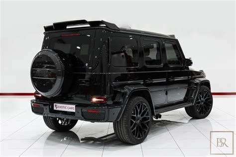 Pushing a whopping 800 horsepower. New 2020 Mercedes G63 800 Brabus black for sale | For Super Rich