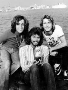 Andy Gibb With Robin, Maurice And Barry The Bee Gees