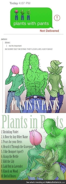 plants  pants emoji funsubstance