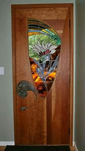 25 best ideas about stained glass door on pinterest With barn door with stained glass