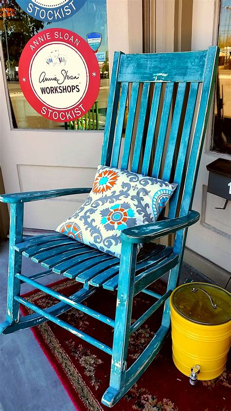 paint colors for rocking chairs rocking chair done with chalk paint by annie sloan