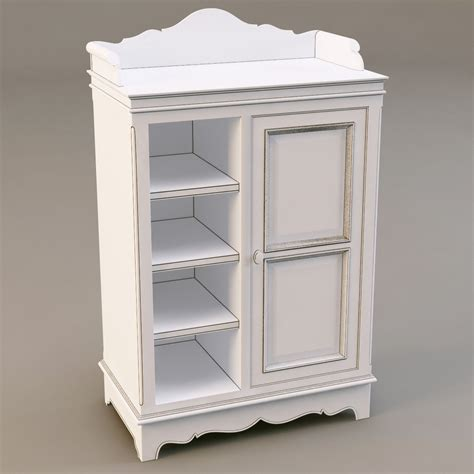 Cupboard Models For by Country Corner Pbab 1door Cupboard 3d Model Max Obj 3ds