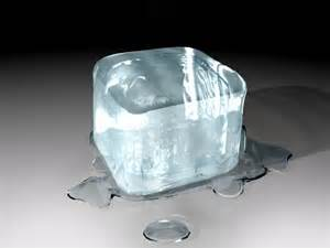 State of Matter Solid Ice Cube