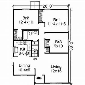 1000 sq ft house plans 3 bedroom google search bogard With plan for a three bedroom house
