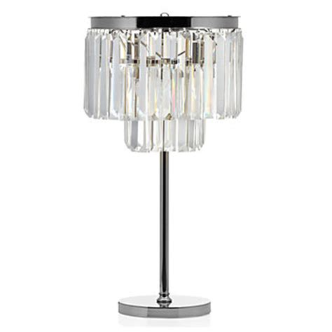 Two Color Living Room by Crystal Table Lamp Luxe Lighting Collection Z Gallerie