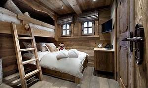 30 ideen fur schlafzimmer einrichtung im stil chalet With attractive exemple de decoration de jardin 12 photo decoration deco appartement a la montagne 9 jpg