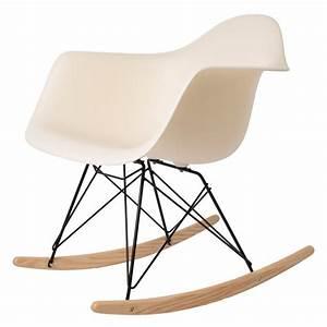 Eames Chair Schaukelstuhl : charles eames schommelstoel rar zwart frame schommelstoel ~ Michelbontemps.com Haus und Dekorationen