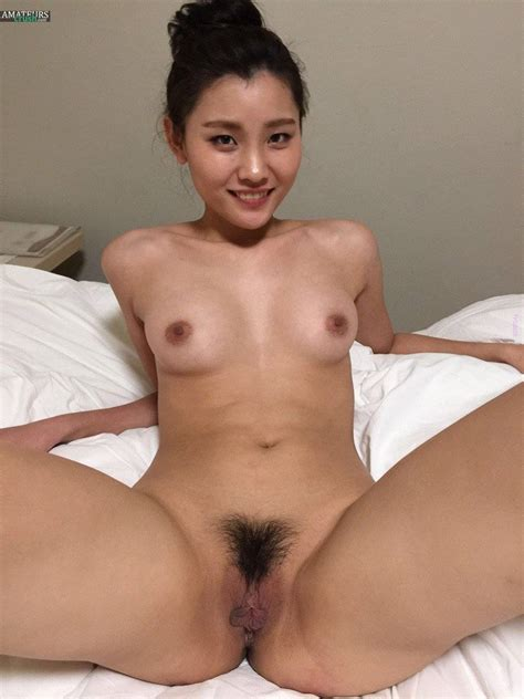 Hairy Asian Pussy Nude Chinese Pic Spread Legs Collection Luscious