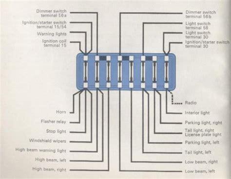 1957 Bug Wiring Diagram by 1965 Beetle Wiring Diagram Thegoldenbug