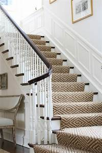 le tapis pour escalier en 52 photos inspirantes With tapis d escalier design