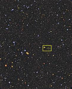 Cosmotography- Farthest Galaxy- the Subaru Deep Field Image