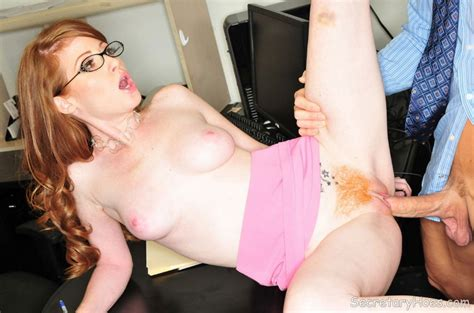 Redhead Pornstar Nikki Fucking At The Offic Xxx Dessert