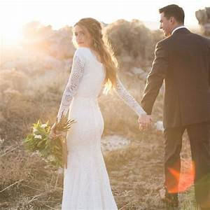 Modest wedding dresses by alta moda bridal for Long sleeve modest wedding dresses