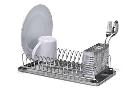 dish drainer small 10 easy pieces countertop dish drainers remodelista