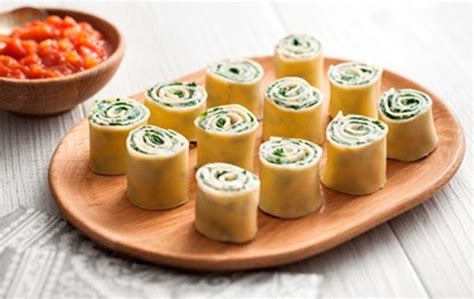 canape filling ideas ricotta and spinach canapé lasagna san remo