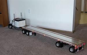 Custom Aluminum Flatbed Trailers for Tamiya Trucks ...