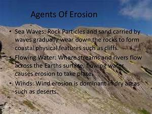 Types Of Weathering And Erosion