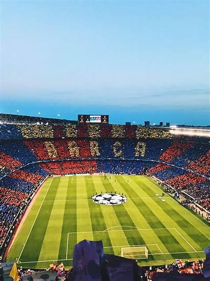 Nou Camp Barcelona Fc Soccer Stadium Clubs