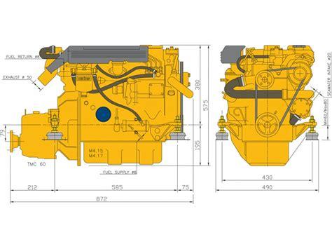 Vetus Electric Boat Motor by Vetus Diesel Engine M4 15 33hp 24 3kw Vetus Direct