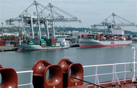 greve port du havre loi el khomri une journ 233 e de gr 232 ve bien suivie dans les ports