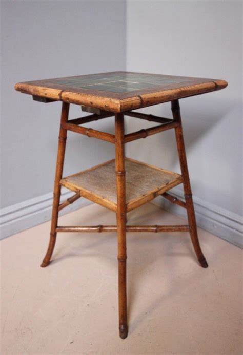 vintage bamboo side table antique victorian bamboo side table 107083