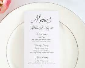 traditional wedding invitation wording fairytale script wedding menus wedding menus by shine