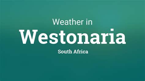 weather  westonaria south africa