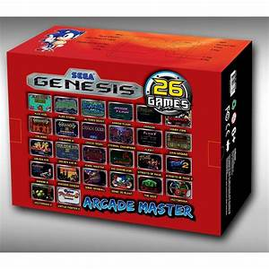 Sega Arcade Master Plug-n-play Arcade Stick  Vaps