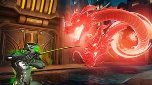 Overwatch Nuova Skin Di Genji Per I Giocatori Di Heroes