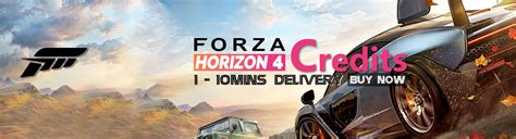 forza horizon 4 credits r4pg ffxiv gil poe currency power leveling and items service