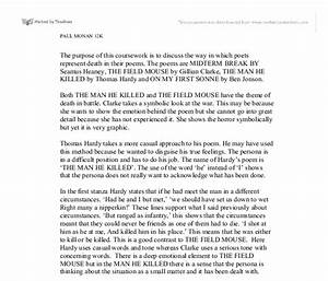 the man he killed poem explanation