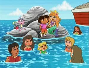 Series de TV - Dora The Explorer - Dora Saves The Mermaids