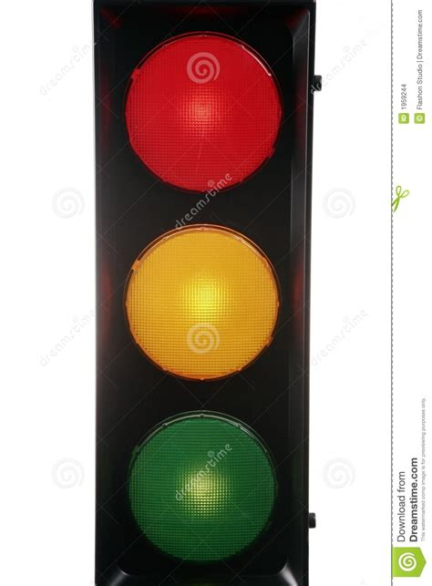 Red Yellow Green Traffic Light Stock Images - Image: 1959244