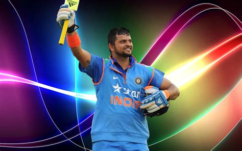 Suresh Raina Latest Wide Hd Wallpapers