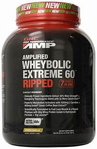 Gnc Pro Performance Amp Amplified Wheybolic Extreme 60 Ripped  French Vanilla