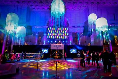 Party Event Birthday Themes Stage Extravagant Creative