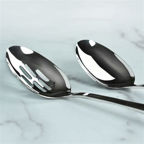 viking stainless steel kitchen utensil set  piece cutlery