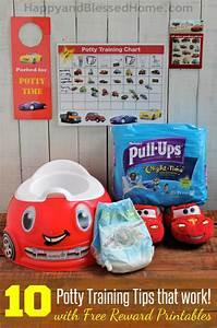 Cars Potty Training Chart 10 Potty Training Tips That Work With Free Printable Potty