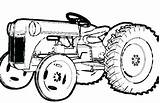 Coloring Pickle Tractor John Printable Deere Getcolorings Getdrawings Colorings sketch template