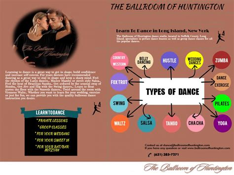 Choose Ballroom Of Huntington To Learn All Types Of