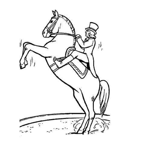 Kleurplaat Paardenb by Leuk Voor Dressuur