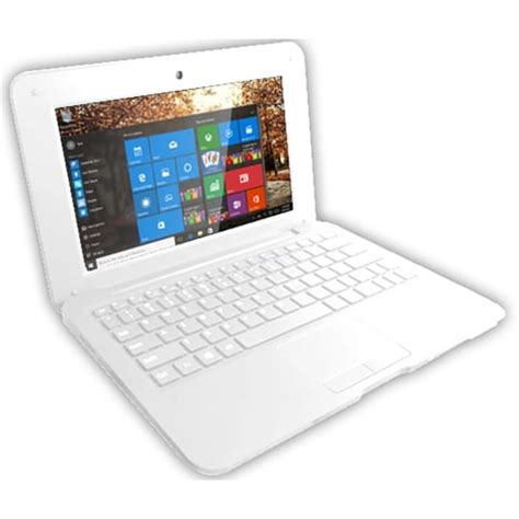 auchan pc de bureau ordinateur portable netbook 32go blanc selecline pas cher à prix auchan