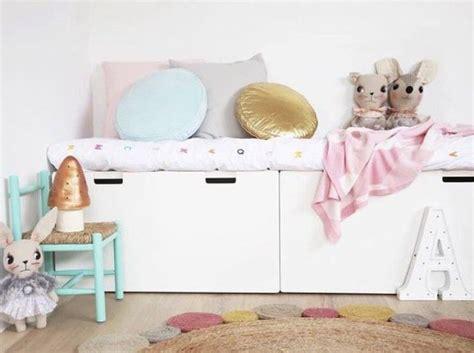 bureau pour lit mezzanine meuble rangement enfant ikea stuva