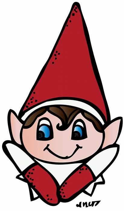 Elf Shelf Clipart Head Elves Classroom Face