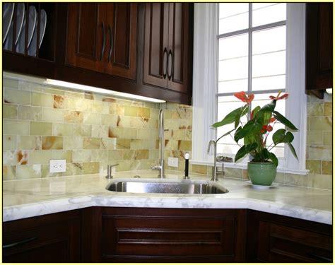Green Onyx Tile Backsplash  Home Design Ideas