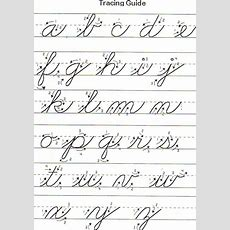 Free Printable Cursive Words Worksheets  Lower Case Cursive  Ideas For The House Pinterest