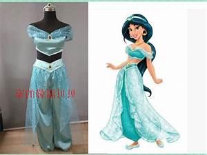 ladies sexy aladdin princess jasmine costume adults princess jasmine costumes for women dresses ...